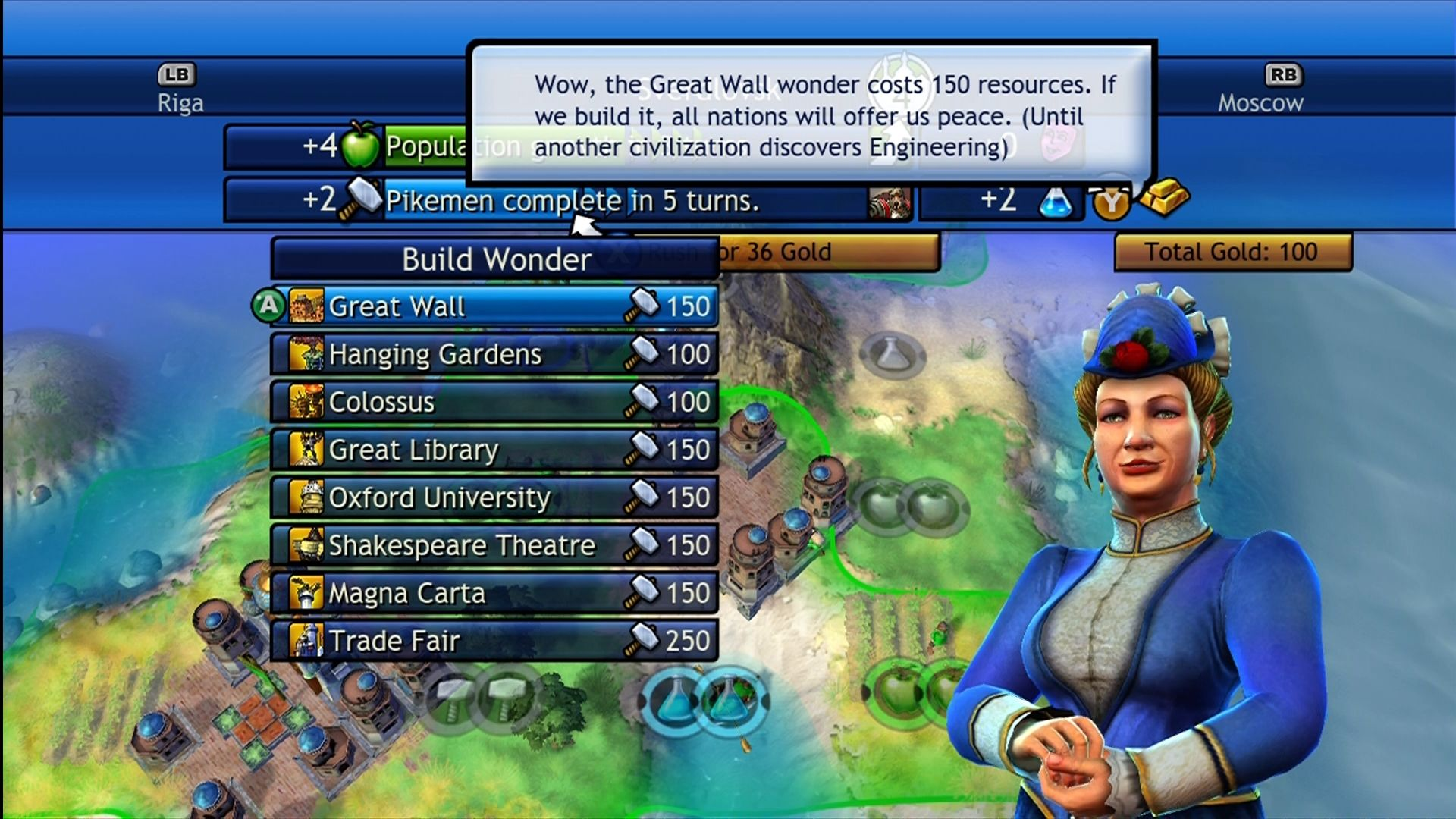 how to play civilization revolution xbox 360