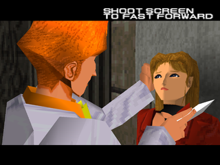 Time Crisis PlayStation Rachael, the heroine