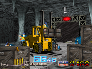 Time Crisis PlayStation Forklift