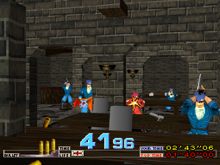 Time Crisis PlayStation Castle dinner hall