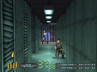Time Crisis: Project Titan PlayStation Grenade-chucking enemy