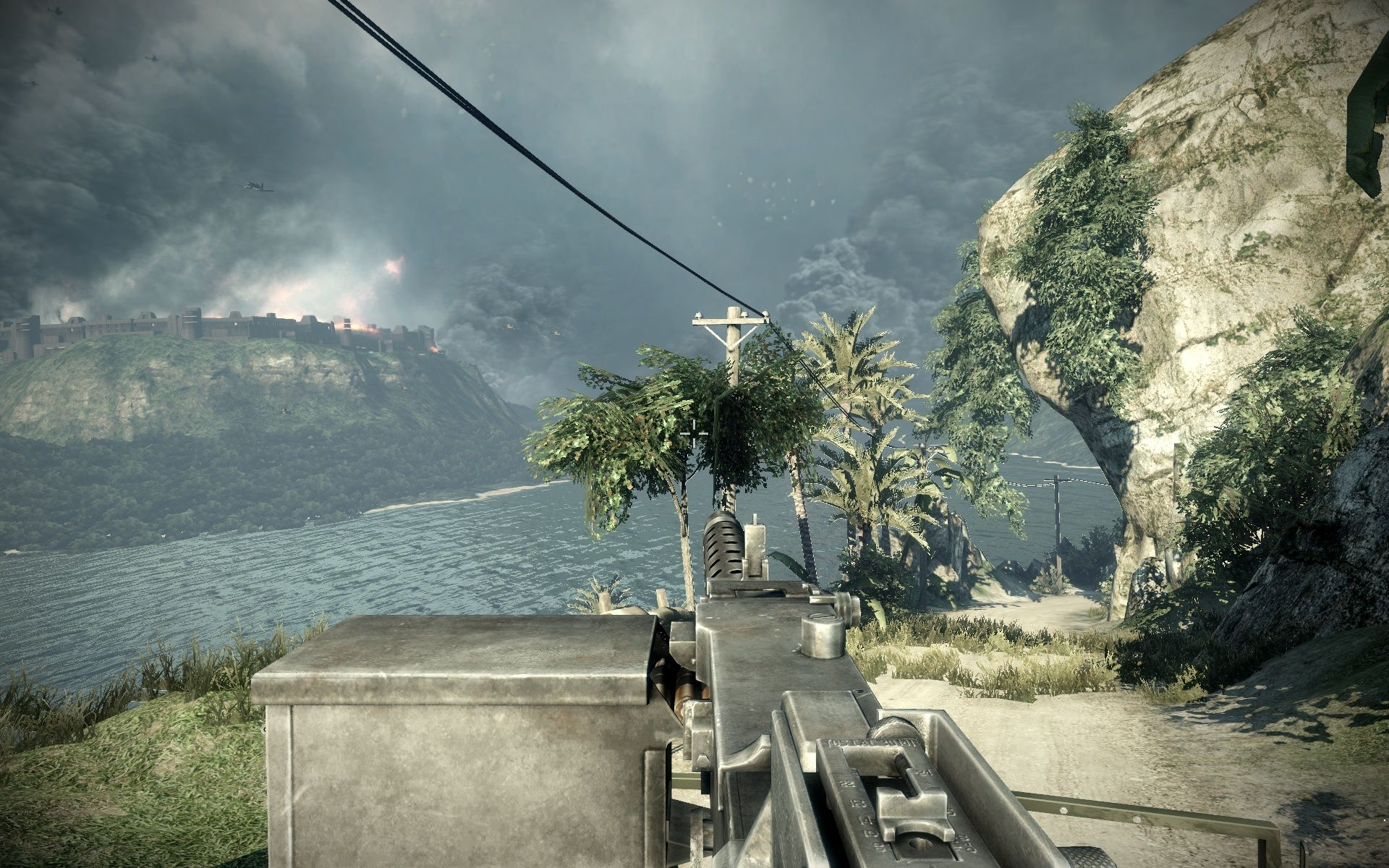 Battlefield: Bad Company 2 Windows Driving around in a vehicle shooting stuff - how original...