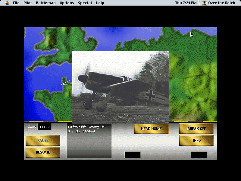 Over the Reich Macintosh Authentic war clips are added in to help immerse the player into the role