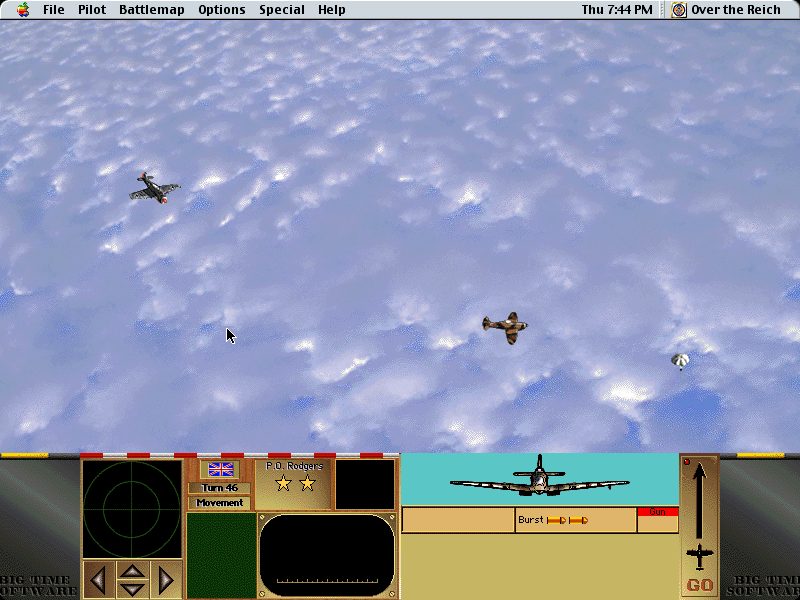 Over the Reich Macintosh Before we can finish the Typhoon off he gets help from a Spitfire and downs one of our FW-190's