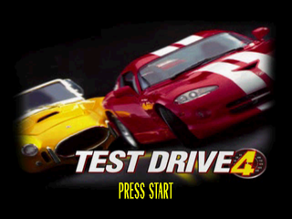 Test Drive 4 PlayStation Title screen