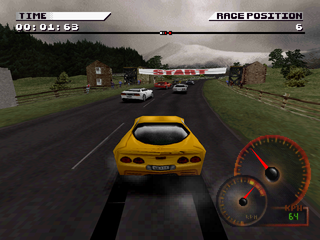 Test Drive 4 PlayStation England track