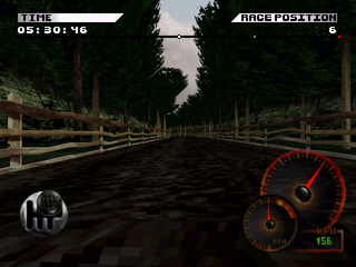 Test Drive 4 PlayStation Forest