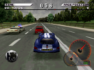 Test Drive 4 PlayStation Police car