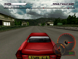 Test Drive 4 PlayStation Japanese track