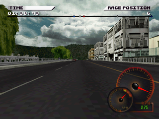 Test Drive 4 PlayStation Japanese city