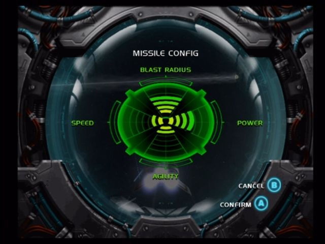 Battlestar Galactica Xbox Missiles can be re-configured/rebalanced at any time.