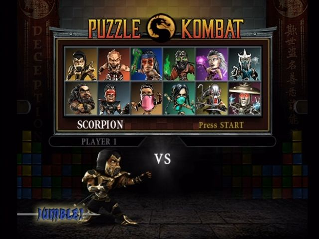 mortal kombat characters list. Mortal Kombat: Deception