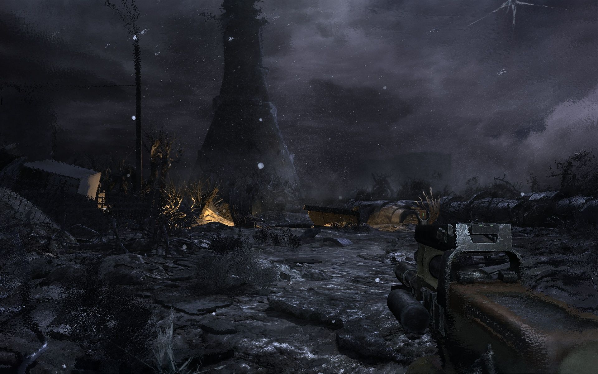 Metro 2033 Windows This is both a scene from the beginning and the end of the game.