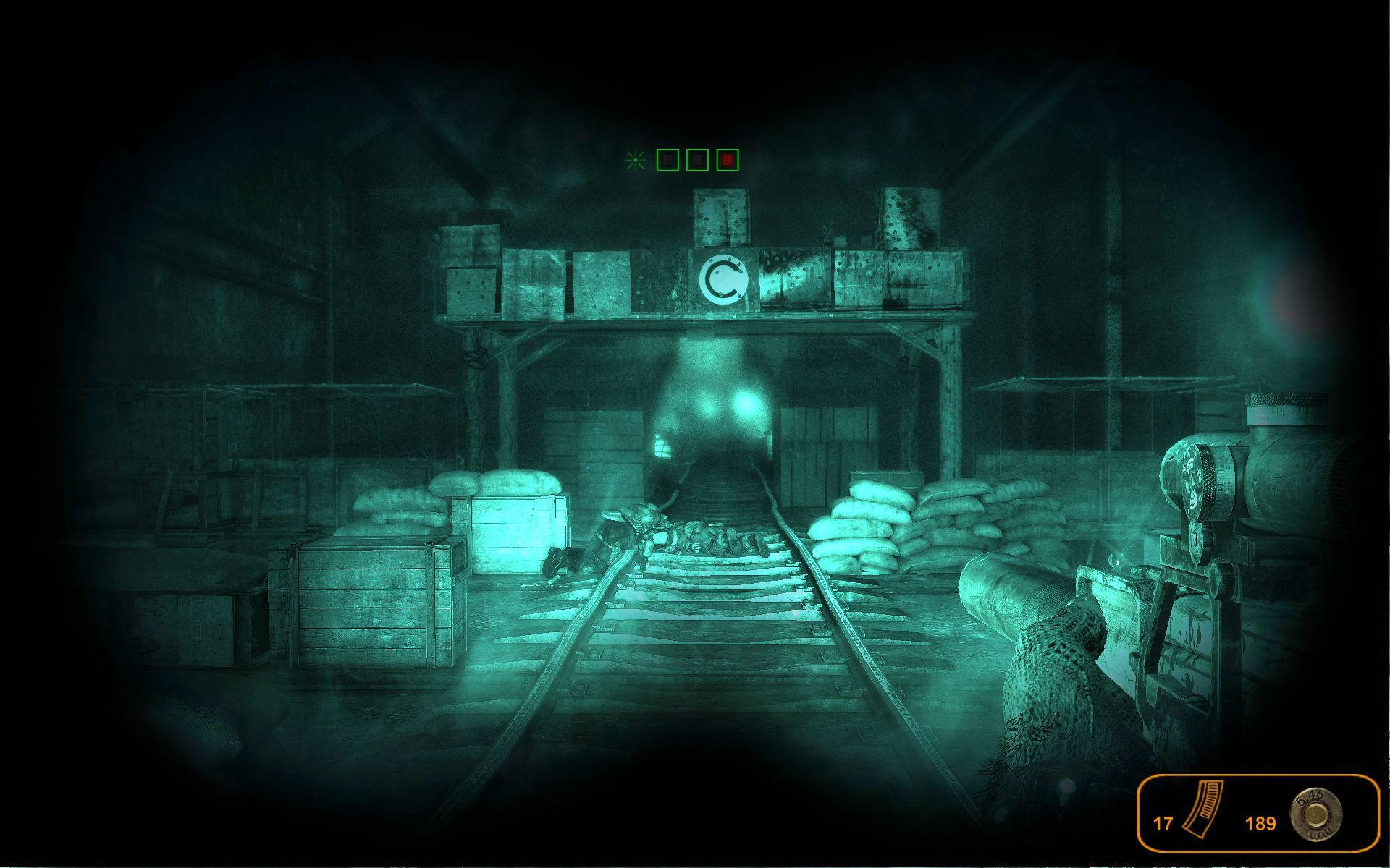 Metro 2033 Windows Nightvision goggles are useful in the very dark tunnels.