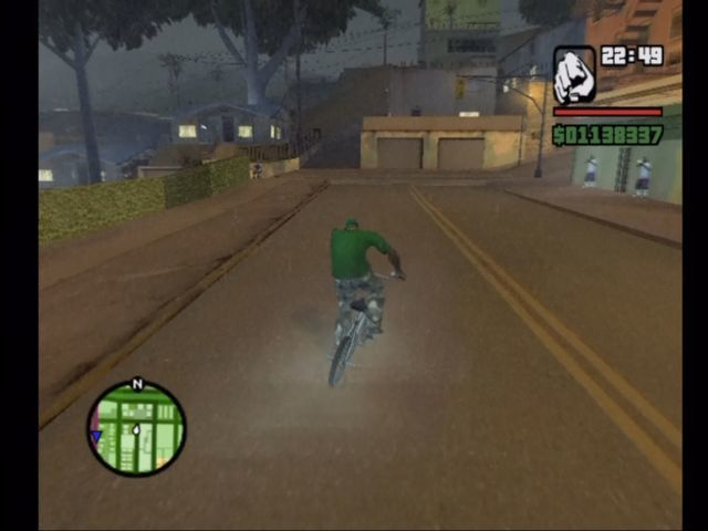 Grand Theft Auto: San Andreas Xbox Pedal bikes have been added to San Andreas.