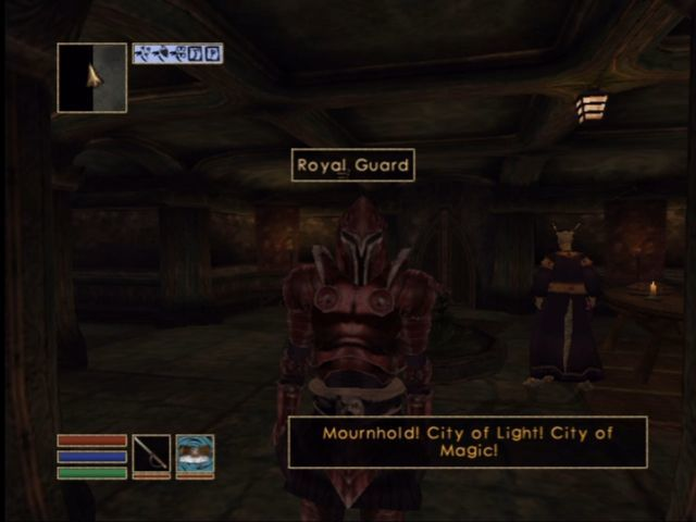 The Elder Scrolls III: Morrowind (Game of the Year Edition) Xbox Tribunal takes place in the capital city of Mournhold.