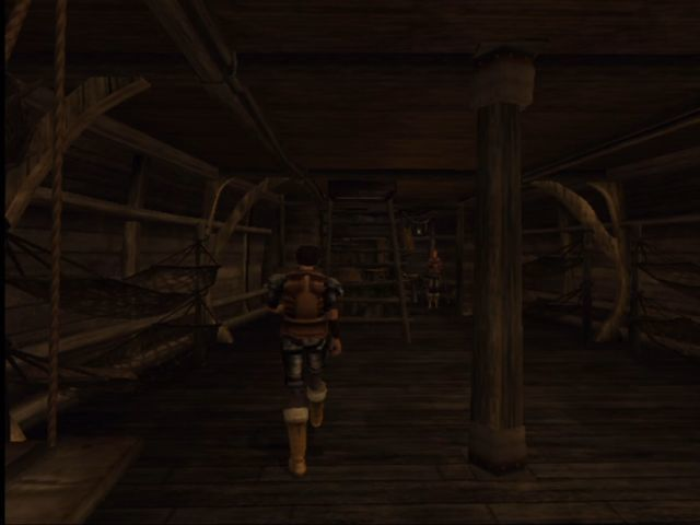 The Elder Scrolls III: Morrowind Xbox Interior of a ship.
