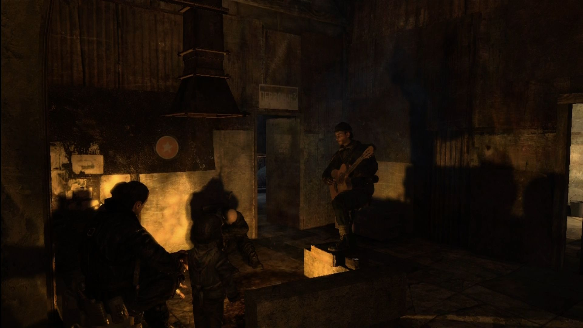 Metro 2033 Xbox 360 Good to see the STALKER guitarists found work.