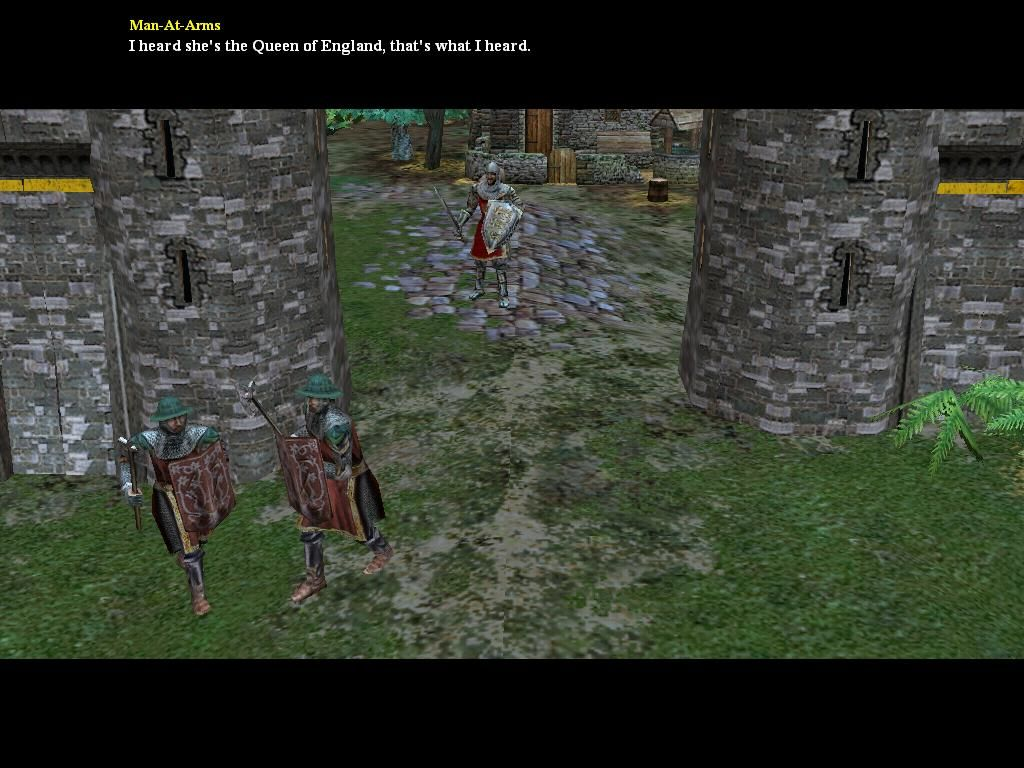 Empires: Dawn of the Modern World Windows A couple of enemies chatting.