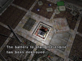 Dino Crisis 2 PlayStation Battery slot