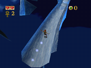 Pandemonium! PlayStation Icy cave