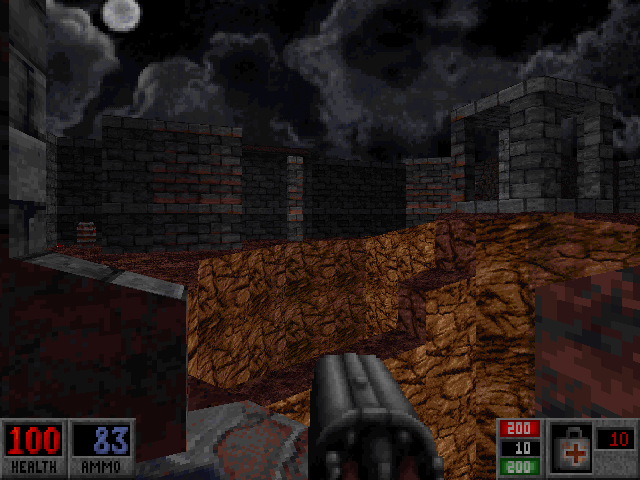 Blood: Plasma Pak DOS Level 5 - the namesake Ruined Temple.