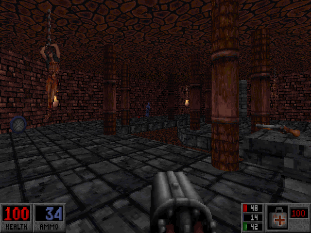 Blood: Plasma Pak DOS More of The Dungeon's dungeon.