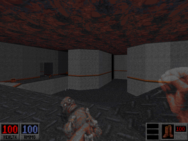 Blood: Plasma Pak DOS Third new multiplayer map - Area 15