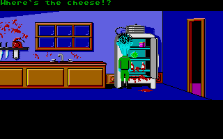 "Maniac Mansion Atari ST ""Where's the cheese?!"""