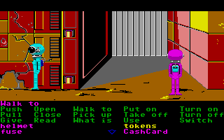 Zak McKracken and the Alien Mindbenders Atari ST The girls on Mars.