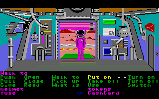 Zak McKracken and the Alien Mindbenders Atari ST Hello, is ET here?