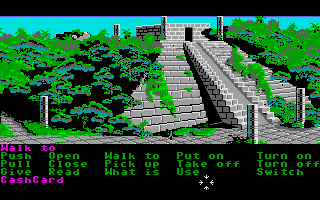 Zak McKracken and the Alien Mindbenders Atari ST Mexico.