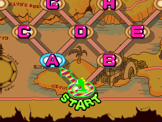 Bust-A-Move 2: Arcade Edition DOS Puzzle mode
