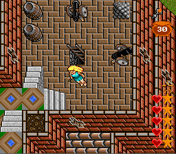 Ultima: Runes of Virtue II SNES Exploring Lord British's castle. They've got cannons???