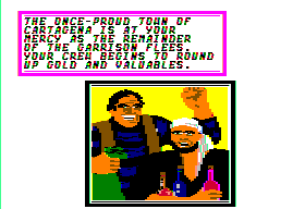 Sid Meier's Pirates! Apple II Looting the town!
