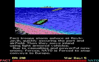 Red Storm Rising DOS Russian forces land.