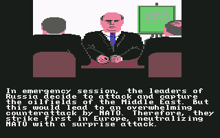 Red Storm Rising Commodore 64 The Soviets make their plans.