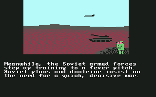 Red Storm Rising Commodore 64 The Russians prepare for war.