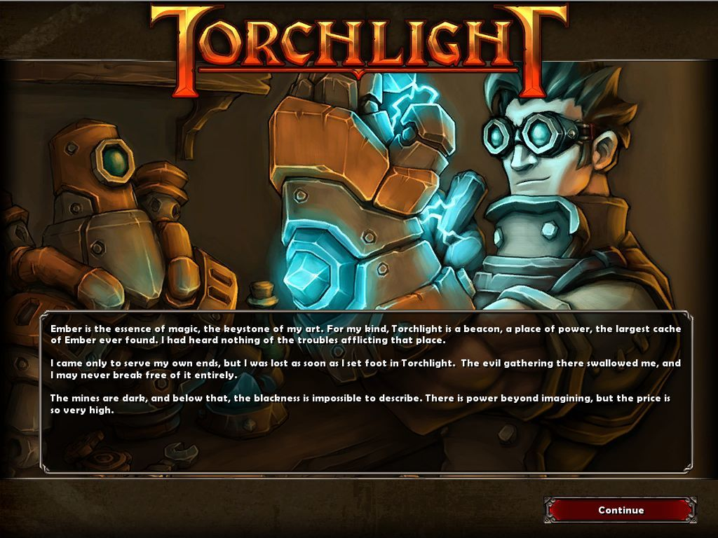 Torchlight Macintosh Story Introduction