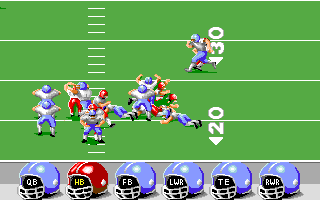 ABC Monday Night Football Amiga Tackle!