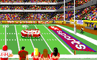 ABC Monday Night Football Amiga Right end-zone.