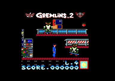 Gremlins 2: The New Batch Amstrad CPC Skater Gremlin