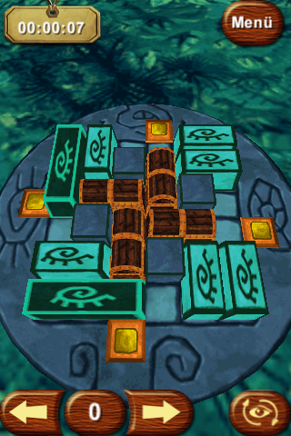 Know How: Think and play outside the box! iPhone Puzzle with 4 treasure chests and 4 exits (jungle area)