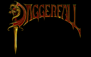 The Elder Scrolls: Chapter II - Daggerfall DOS Title screen
