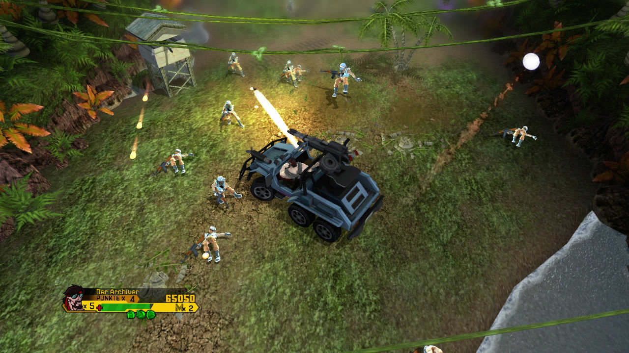 Wolf of the Battlefield: Commando 3 Xbox 360 You and you coop mates