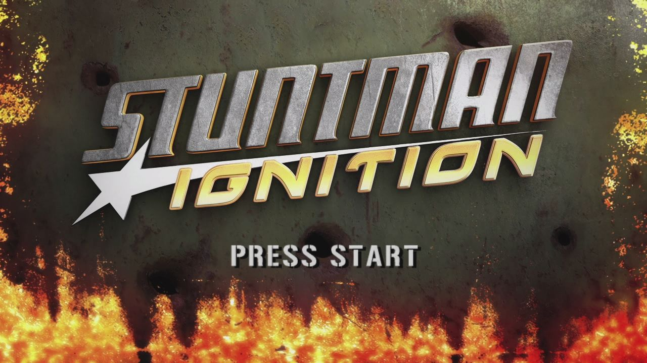 Stuntman: Ignition Xbox 360 Title Screen