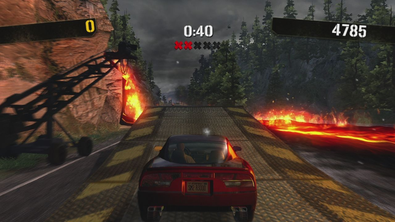 Stuntman: Ignition Xbox 360 And now the actual shoot. First the ramp...