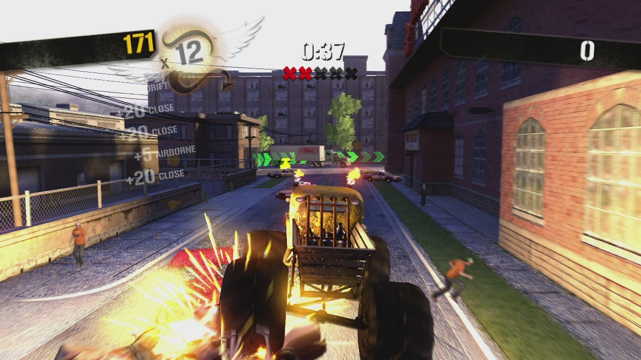 "Stuntman: Ignition Xbox 360 The monster truck scene in ""Whoopin and a Hollerin' II"" is great fun."