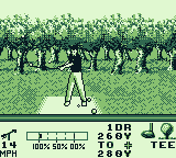 PGA European Tour Game Boy SWING!