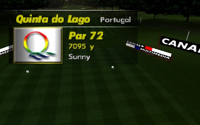 PGA European Tour Nintendo 64 Quinta do Lago is, overall, a par 72.